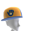 Milwaukee Brewers MLB 2K12 스로우백 모자