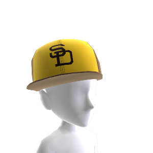 San Diego Padres MLB 2K12 Throwback Cap