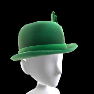 Green Bowler Hat