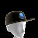 Epic Blue Gamer Skull Hat