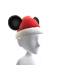 Orelhas do Mickey Pai Natal