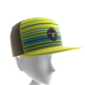 Faderade Trucker Hat - Yellow