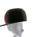 KKZ Black & Red Crown Fitted Hat