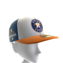 Astros World Series Patch Cap