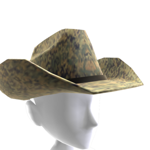 Cowboy Hat - Digital Camo