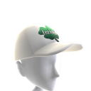 Epic St Pattys Clover Hat White