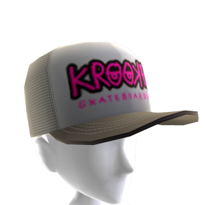 Krooked - Bones Trucker Hat - Grey