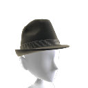 ACOUSTIC FEDORA HAT