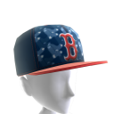 Boston Logo Pattern Cap