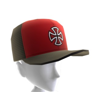 Painted Mesh Cap