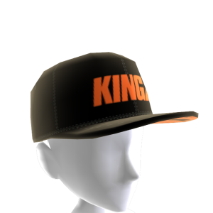 Black and Orange Kingz Snapback