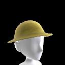 Casco de soldado británico