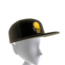 Epic Gold Gamer Skull Hat