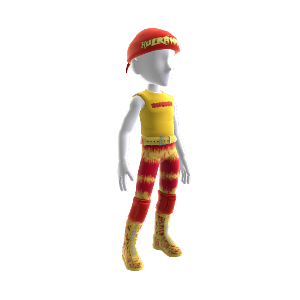Hulk Hogan &quot;Hulkamania&quot; Outfit 