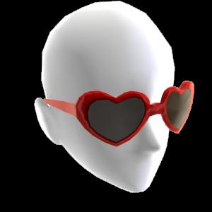 Gafas de corazón