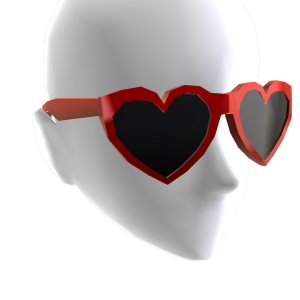 Valentine's - Heart Shaped Glasses