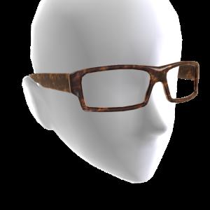 Rectangle Glasses - Tortoise