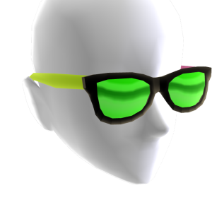 Sunglasses Tricolor Green