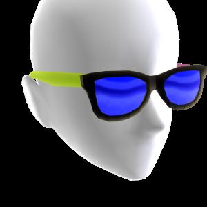 Sunglasses Tricolor Blue