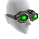 Alpha Green Goggles