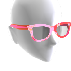 Sunglasses Pink Chrome Black Lenses