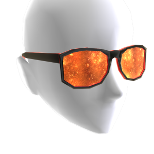 Fire Galaxy Glasses