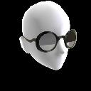 Halbgetönte Sonnenbrille
