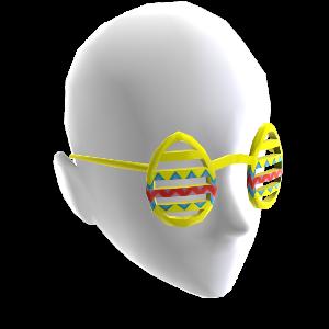 Occhiali con uova