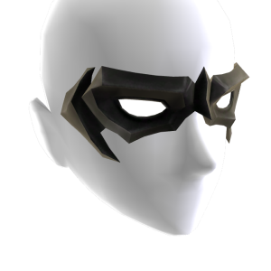 Black Domino Mask