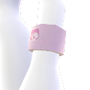 Pink Sweatband
