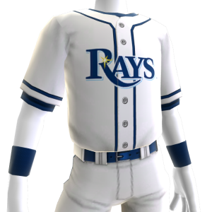 Tampa Bay Rays Home Game Jersey