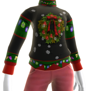 Ugly Wreath Sweater