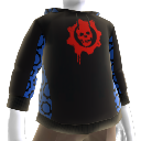 Crimson Omen Hoodie