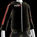 Sudadera con capucha de N7