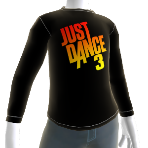 Just Dance 3 Logo Longsleeve T-shirt