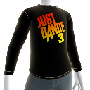 Camiseta Just Dance 3