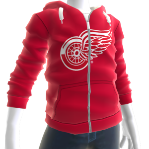 Red Wings Zip Hoodie