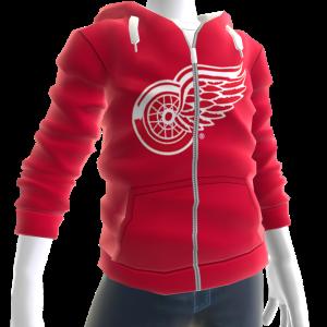 Red Wings Zip Hoodie
