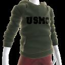 Tee-shirt de camouflage de l'armée