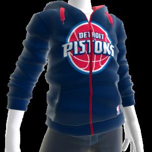 Pistons Zip Hoodie