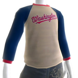 Washington Nationals Long Sleeve T-Shirt