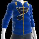 Blues Zip Hoodie