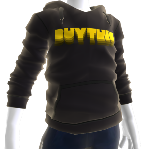Buy This Hoodie - Yellow