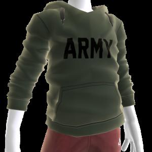 Army Hoodie - Green