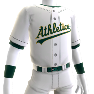 Oakland Athletics Home Game Jersey