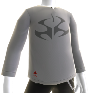 Fleur de Lys T-shirt met lange mouwen