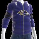 Ravens Zip Hoodie