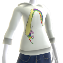 Lady Rainicorn Hoodie
