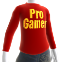 Red Gold Pro Gamer LS Shirt
