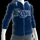Rays Zip Hoodie